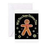 Gingerbread_1.2 Greeting Cards (Pk of 10)
