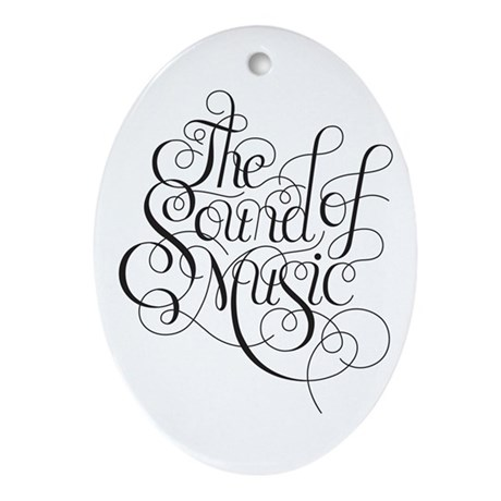 Sound Of Music Logo Ornament Oval By Ptpsoundofmusic