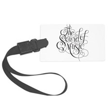 sound of music logo Luggage Tag