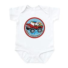 Country Santa Infant Bodysuit