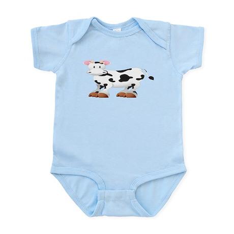 Cute Cow Shirt Infant Bodysuit
