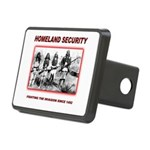 Homeland Security Native Rectangular Hitch Cover