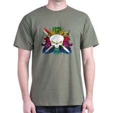 Dentist Pirate Skull T-Shirt