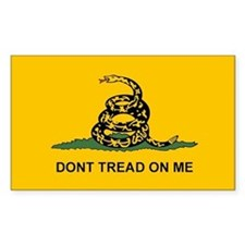 Dont Tread on Me Snake Flag Bumper Stickers