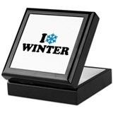 I love winter Keepsake Box