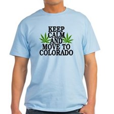 Keep Calm And Move To Colorado T-Shirt