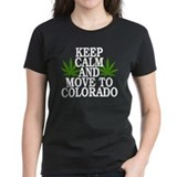 Keep Calm And Move To Colorado Tee