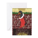 B&T Dachshund Xmas Greeting Cards (Pk of 10)