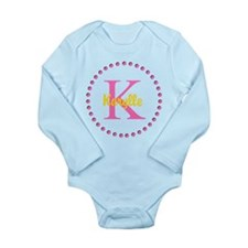 Add your text Long Sleeve Infant Bodysuit