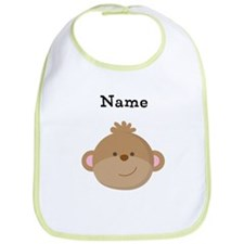Personalized Monkey Bib