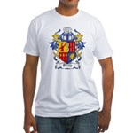 Dirom Coat of Arms Fitted T-Shirt