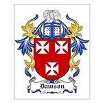 Dawson Coat of Arms Small Poster