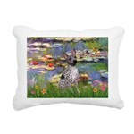 5.5x7.5-Lilies2-AHT2.png Rectangular Canvas Pillow