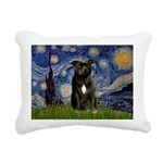 STARRY-AmericanStaffordshire Rectangular Canvas Pi
