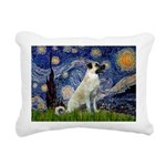 Starry-AnatolianShep 2 Rectangular Canvas Pillow