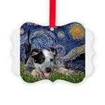 TILE-Starry-ACDpup.PNG Picture Ornament