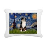 TILE-Starry-Aussie2.png Rectangular Canvas Pillow