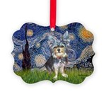 Starry-AustralianTerrier2.png Picture Ornament