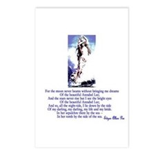 Edgar Allan Poe's Annabel Lee Postcards (Package o