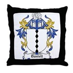 Daniell Coat of Arms Throw Pillow