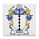 Daniell Coat of Arms Tile Coaster