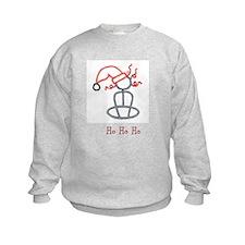 Yoga Christmas Girl Sweatshirt