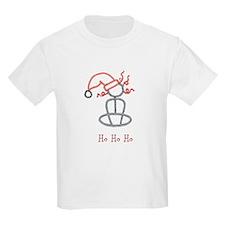 Yoga Christmas Girl T-Shirt