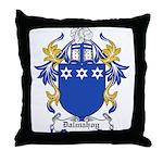 Dalmahoy Coat of Arms Throw Pillow