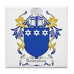 Dalmahoy Coat of Arms Tile Coaster