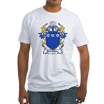 Dalmahoy Coat of Arms Fitted T-Shirt