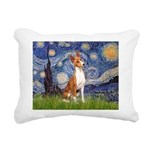 8x10-Starrynight-Basenji2.PNG Rectangular Canvas P