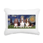 LIC-Starry-Basset TRIO.png Rectangular Canvas Pill