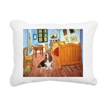 PILLOW-Room-Basset2.png Rectangular Canvas Pillow