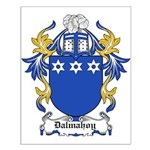Dalmahoy Coat of Arms Small Poster