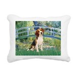 TILE-Bridge1-Beagle1.png Rectangular Canvas Pillow