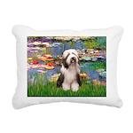 Beardie 1 - Bridge.png Rectangular Canvas Pillow