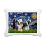 Beardie Pair 1 - Starry Night.png Rectangular Canv