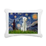 MP-STARRY-Bedlington1.png Rectangular Canvas Pillo