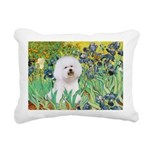 SFP.5-Irises-Bichon1.png Rectangular Canvas Pillow