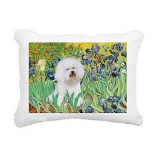 SFP.5-Irises-Bichon1.png Rectangular Canvas Pillow