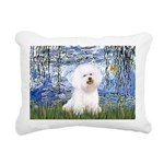 SFP-Lilies6-Bichon1.png Rectangular Canvas Pillow