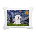 J-ORN-Starry-Bichon1.png Rectangular Canvas Pillow
