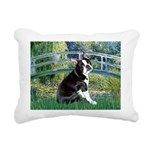 Boston Terrier 4 - The Bridge Rectangular Canvas P