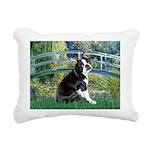 Boston Terrier 4 - The Bridge Rectangular Canvas P