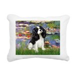 LILIES2-Cav-Tri52 .png Rectangular Canvas Pillow
