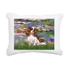 3-MP-LILIES 2-CAV2B.png Rectangular Canvas Pillow