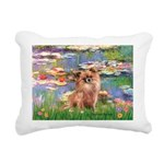 MP--Lilies2-Chih-LH1.png Rectangular Canvas Pillow