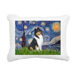 MP-Starry-Collie-TRI3.png Rectangular Canvas Pillo
