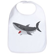 Shark Attack Shirt for Kids Bib