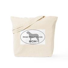 Irish Wolfhound MOM Tote Bag